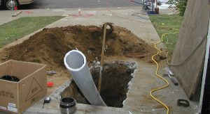 Trenchless sewer repair in La Mirada, CA